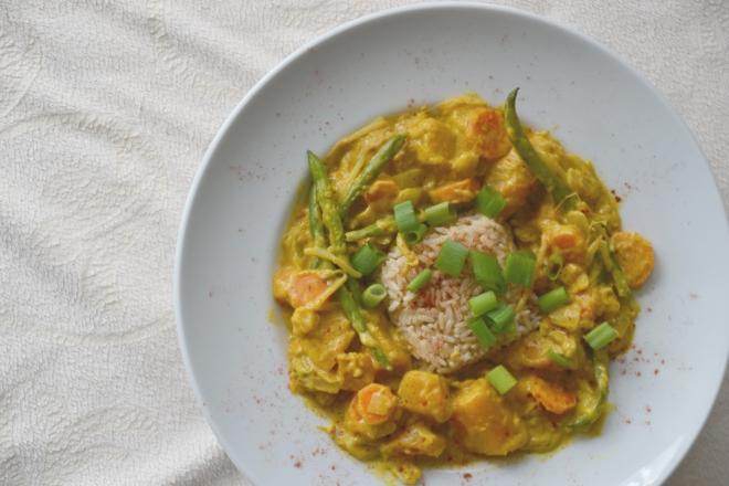 kürbis curry 1